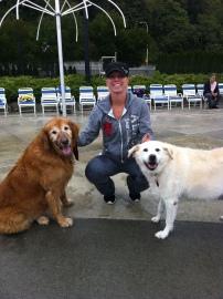 Leo, Maggie & their Mom