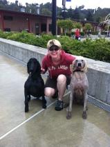 Lilo & Rocky with their Mom